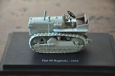 1:43 Fiat 40 Boghetto - 1939 Model TRACTOR Hachette - NEW