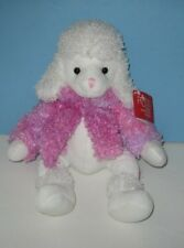 "New 16"" Russ ""Brigette"" Pink French Poodle Bean Plush"