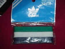 Adidas YOUTH Baller id Bands Wristbands Bracelets Green White Blue 3 pk New!