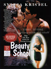 BEAUTY SCHOOL__Original 1993 Trade print AD promo__SYLVIA KRISTEL__VERONICA HART
