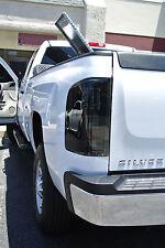 Fit for 2010 Chevrolet Silverado 1500 2500 3500 LED Tail Light smoke (Set)