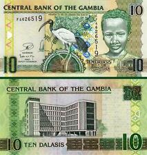 GAMBIA 10 DALASIS 2006 (2013) UNC P-26