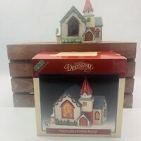 Lemax Dickensvale  Vintage 1995 Porcelain Lighted  Church No Electrical Cord