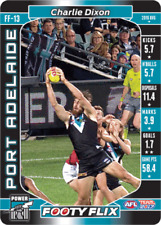 2017 AFL TEAMCOACH FOOTY FLIX 3D CARD PORT ADELAIDE CHARLIE DIXON FF13 MINT