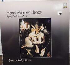 Hans Werner Henze Royal Winter Music Dietmar Kres, Gitarre WER60126   012117LLE