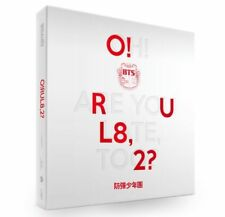 BTS - [O!RUL8,2?] 1st Mini Album: CD+PHOTOBOOK+2 PHOTOCARDS + POSTER (ON PACK)