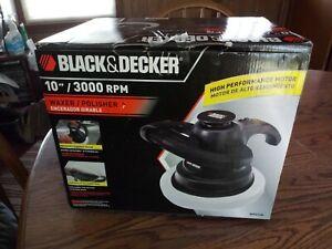 "Black & Decker 10""/3000 RPM Waxer/Polisher WPO10B"