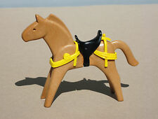 Playmobil Knights Lg Castle 3666 Old Style Brown Horse Chest Rump Harness Saddle