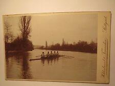 Stoccarda-signor Hugo koppenburg in una barca a remi su un fiume/KAB
