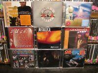 Rock Music 9 CD Lot  Guns n Roses, Metallica + MORE     PDXPRSSgreen