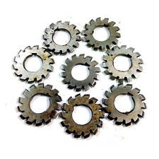 Set 8Pcs Module 1 M1 Inner bore 22mm #1-8 Involute Gear Cutters Disk-shaped