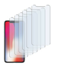 6 x Schutzfolie f. iPhone X Klar Folie Clear Displayschutzfolie Screen Protector