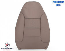 92 93 94 95 96 Ford Bronco XLT -PASSENGER Side Lean Back Leather Seat Cover TAN
