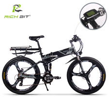 E-bike 250W 36V Electric Bike 21Speed Dual Suspension MTB Folding bicycle 2018