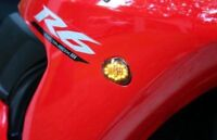 2006-2010 Yamaha YZF R6 FLUSH SMOKE LED TURN SIGNALS