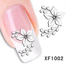 Nail Art Sticker Water Transfer Stickers 3D Decoration Flower Decals Tips
