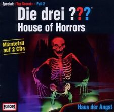 2 CDs * DIE DREI ??? (FRAGEZEICHEN) - SPECIAL-TOP SECRET FÄLLE  2 # NEU OVP =
