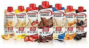 Premier Protein High Protein Shakes Variety Pack Chocolate Vanilla Strawberry...