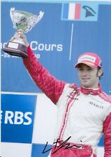 Luca Filippi Hand Signed 12x8 Photo - Formula 1 Autograph F1.