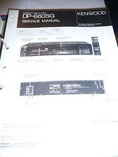 Service Manual für Kenwood DP-660SG CD-Player,ORIGINAL
