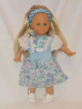 "19"" Little Girl Doll By Zapf Creations"