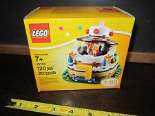 LEGO 40153 Birthday Table Decoration Cake Jester 120 Pc Building Toy 1-99 Set