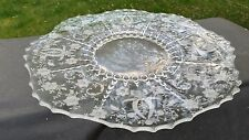 """New Martinsville PRELUDE 14 ½"""" Flat Tort Plate Tray"""