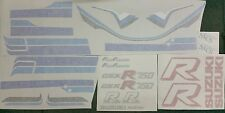 SUZUKI GSXR750R GSXR 750R 1985 FULL PAINTWORK DECAL KIT