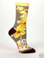Blue Q Kick this days @$$ Women's Casual Sock (5-10)