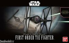 Bandai 1/72 Scale Model Kit Star Wars  First Order Tie Fighter The Force Awakens