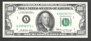 $100 1969 Boston STAR A00056771*, Only 128,000 stars printed!  XF