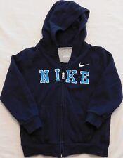 Kids Blue Nike Hoodie Pullover Sweatshirt Size 6 Long Sleeve Swoosh