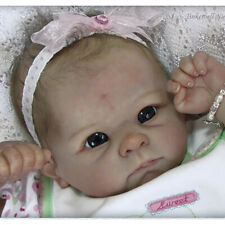 20'' Reborn Newborn Doll Kits DIY Soft Vinyl Head + 3/4 Limbs Reborn Supplies