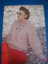 Emu Women's Jacket Knitting Pattern 3792