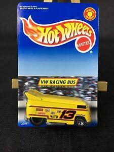 LOGO ERROR Hot Wheels Special Edition VW Racing Drag Bus Yellow Volkswagen