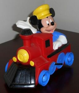Disney Mickey Mouse Bubble Bath Toy Train Exclusive Promotional Johnson