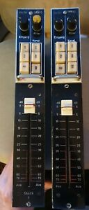 WSW 811430D 1960s Germanium Preamps Preamplifiers Pair Vintage