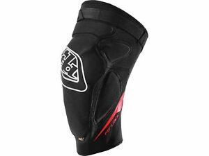 TLD Troy Lee Designs Raid Knee Guard / Knieschoner , Black XS / SM