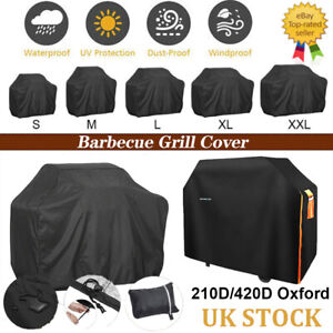 XS-XXXL BBQ Covers Heavy Duty Waterproof Patio Barbecue Gas Smoker Grill Garden