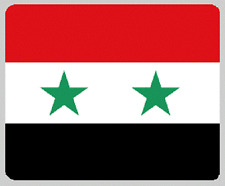 "Blanket Fleece Throw National Flag Syria 50""x60"" NEW with protective sleeve"