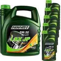 9 Liter Orignal FANFARO LSX JP 5W-30 API SN/CF Motoröl Engine Oil Öl 11191883