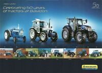 Vintage Fordson Ford New Holland Baslidon 50 Years Tractor Poster Brochure (A3)