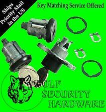 Camaro Firebird 93-02 OEM Door Lock Key Cylinder Pair & Trunk Lock Black W/ Keys