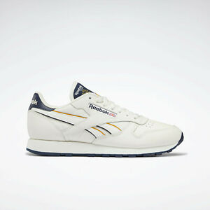 Reebok Classic Mens Leather Shoes Chalk