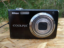 Nikon Coolpix S630 12.0Mp Digital Camera w/ Battery & Charger Cable