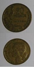 Pièce de monnaie de 20 Francs G. GUIRAUD de 1952