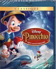 """Blu-ray """"Pinocchio (Édition 70ème anniversaire) Disney  N  2  NEUF SOUS BLISTER"""