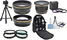 18 Pcs Super Saving Hi Def Accessory Kit For Sony SLT-A58 SLT-A57 SLT-A65 SLTA37