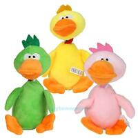 Cute Pet Puppy Dog Toy Plush Sound Chew Squeaker Duck Squeaky Play Training Toy