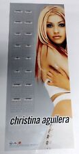 Christina Aguilera U.S. Promo Poster & 2000 Calendar - Xtina With Arms Crossed